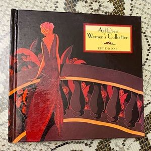 VINTAGE ART DECO WOMEN'S COLLECTION BIRTHDAY BOOK